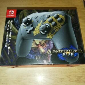 未開封 Nintendo Switch Proコントローラー モンスターハンターライズエディション プロコントローラー