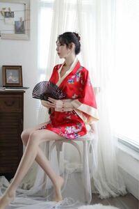 和服 和風浴衣 セクシーランジェリー コスプレ 花柄