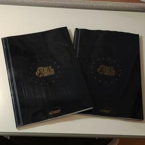 エグザイルEXILE15周年ファンクラブ会員特典 スペシャルフォトブックとスペシャルフォトカード2セットです。