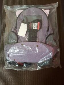 更にお値引!!猫ちゃん用 耳・しっぽ付きキャリーリュック 紫色