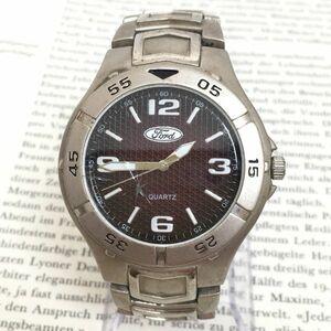 ★ Ford 腕時計 ★ フォード 3針 シルバー 稼動品 F3514