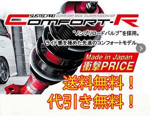タナベ tanabe 車高調 サステックプロ CR (Comfort-R) フィット FF NA グレード:RS GE8 CRGE6K