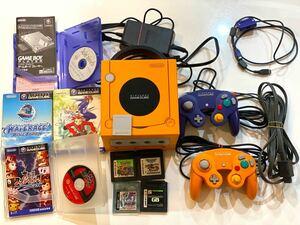 任天堂 ゲームキューブ本体、ゲームボーイプレイヤー、コントローラーセット