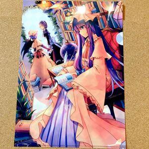 【送料無料】東方Project 東方プロジェクト A4 クリアファイル パチュリー ノーレッジ 十六夜 咲夜 レミリア スカーレット