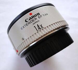 Canon  EXTENDER EF 1.4x JAPAN キャノン カメラレンズ 36726      中古品20210329C