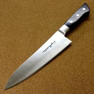 関の刃物 牛刀 18cm (180mm) TSマダム AUS-8 クロムモリブデン ステンレス 家庭用の洋包丁 肉 魚 野菜 パン切り 両刃万能包丁 日本製