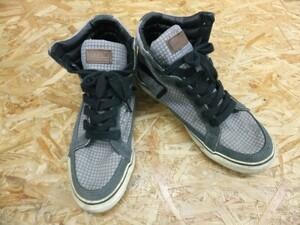 MAD FOOT マッドフット MAD MAD SOLO Hi ストリート ハイカット スニーカー 靴 チャコールグレー サイズ26.5 メンズ