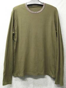 ワイズ フォーメン ヨウジヤマモト:ロンT 3 ( 長袖Tシャツ カットソー Tシャツ Y's for Men Yohji Yamamoto Long Sleeve Tee 3
