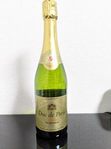 【新品】デュック ド パリ ドミセック スパークリングワイン