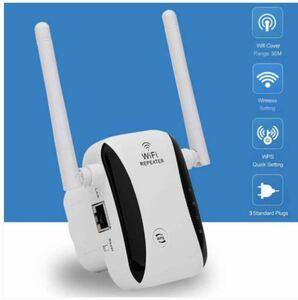WiFiリピーター 無線LAN ルーター ワイヤレス 300Mbps 2.4G 未使用品 送料無料