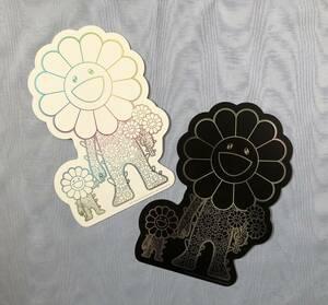 ROPPONGI HILLS:TAKASHI MURAKAMI PROJECT 六本木ヒルズ 村上隆プロジェクト カード2枚セット 白ver.&黒ver.