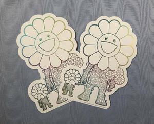 ROPPONGI HILLS:TAKASHI MURAKAMI PROJECT 六本木ヒルズ 村上隆プロジェクト カード2枚セット 白ver.
