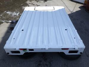 発送不可/引き取り出来る方限定 スクラムトラック DG16T トラック荷台 1A13-65-050A H26/08 26U 白