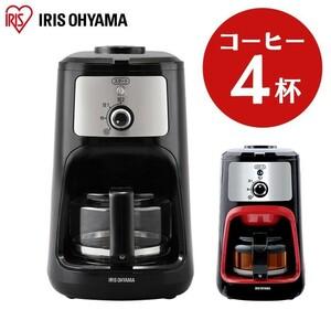 アイリスオーヤマ コーヒーメーカー IAC-A600 黒