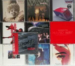 【SHOW-YA】寺田恵子 アルバム CD まとめて 10枚セット ショウヤ