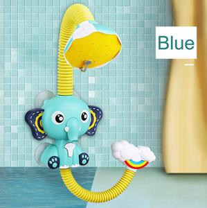 お風呂の玩具赤ちゃん水ゲーム象モデル蛇口シャワー電気水スプレーのおもちゃ水泳浴室のおもちゃ