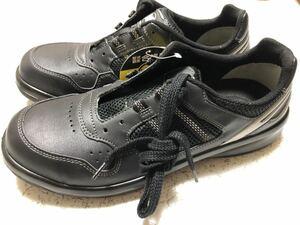 未使用 新品 ミドリ安全 安全靴 G3690 28cm EEE 黒 ブラック 先芯入り ローカット 紐 作業靴 セーフティーシューズ スニーカー