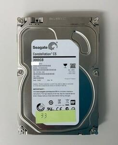 [HDD] 3TB sata Seagate ST3000NC002 3.5インチ - Constellation - ハードディスク HDD_33