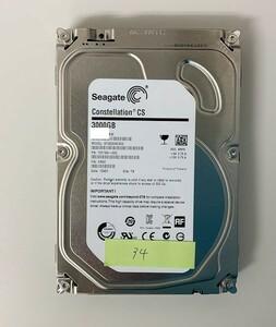 [HDD] 3TB sata Seagate ST3000NC002 3.5インチ - Constellation - ハードディスク HDD_34