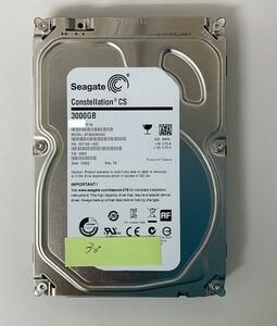 [HDD] 3TB sata Seagate ST3000NC002 3.5インチ - Constellation - ハードディスク HDD_38