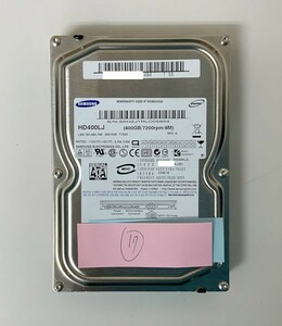 [HDD] 400GB sata Samsung HD400LJ 3.5インチ 8MB Cache 7200RPM/7.2K ハードディスク HDD_17