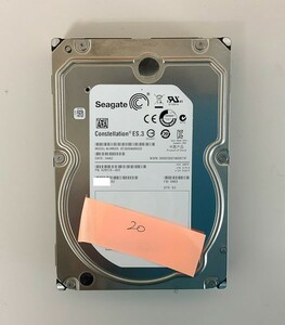 [HDD] 3TB sata Seagate ST3000NM0033 3.5インチ - Constellation - ハードディスク HDD_20