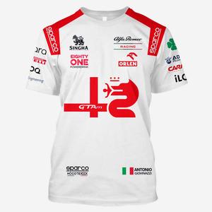 アントニオ・ジョヴィナッツィ 2021年モデル アルファロメオ・ザウバー「新品・送料無料」Tシャツ S~XXL