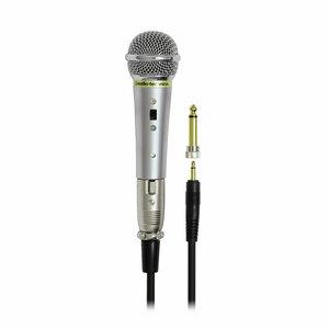 ◆新品 オーディオテクニカ audio-technica ダイナミック型ボーカルマイクロホン AT-X3 [コンパクトサイズ/金メッキプラグ] 保証付 1点