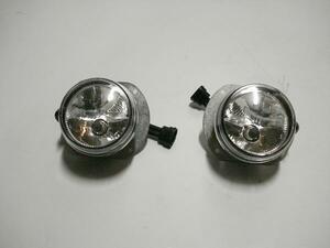 ▼ ベンツ M W164 ML63 AMG 164177 2006~2008 前期 左 右 フォグ ランプ セット デイ ライト ハロゲン H7 A2098200756 A 2098200856