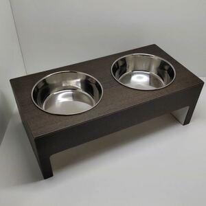 【犬・猫用】エサ入れ・エサ受け・フードテーブル・フードボウル43