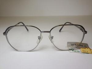 A50☆未使用 定価2.1万 チタン製 GIA-M800 メガネフレーム 眼鏡 めがね 当時物 デッドストック レトロ ビンテージ 90's 80's☆