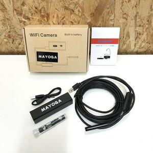 未使用【中古】MAYOGA ワイヤレス内視鏡カメラ wifiカメラ X000P62BVP [jggZ]