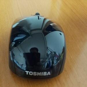 TOSHIBAのワイヤレス(無線)マウス(ブラック)