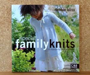 スペシャル ファミリーニット 英語版洋書 Special Family Knits:25 Handknits for All Seasons オールシーズン25ハンドニット
