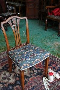 イギリスアンティーク家具 ダイニングチェアー ウィリアムモリス/チェア チェア 椅子 英国製 C41-8