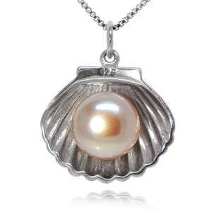 最高級の逸品 大粒淡水真珠 豪華 厳選 貝殻 レディースネックレス パープル 必見 オススメ プラチナ仕上 限定 ペンダント 最高純度