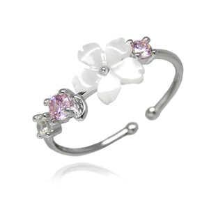憧れの最上級 最高純度 桜 cute CZピンクダイヤモンドリング 限定 絢爛 豪華 オススメ 新品未使用 レディース 大人可愛い プラチナ仕上