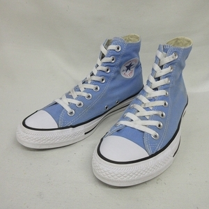 MA0738 サイズ US6.5 25.0cm 古着 CONVERSE converse コンバース ALL STAR オールスター ハイカット シューズ スニーカー 靴 ブルー