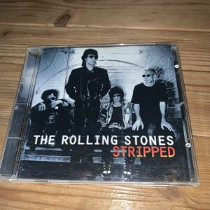 [送料無料] The Rolling Stones「Stripped」US盤14曲入CD・1995年発売・Virgin Records[7243 8 41040 2 3]※中古CD