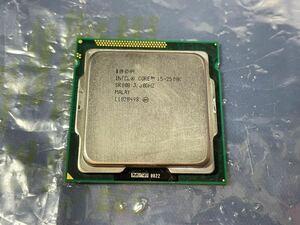 中古 Intel Core i5 2500k 3.30GHz Sandy Bridge LGA1155 動作品