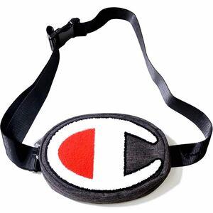 【新品】チャンピオン ウエストバック ウエストポーチ ボディバッグ ショルダー グレー Champion
