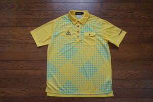 ◇  le coq sportif  GOLF collection  ルコック  ◇  半袖ポロシャツ  ◇  size M