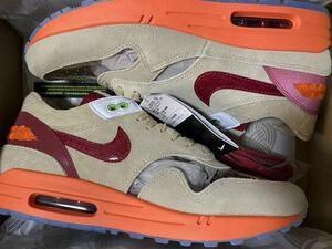 NIKE AIR MAX 1 CLOT 28cm US10 新品黒タグ クロット エアマックス kith Jordan ナイキ supreme Stussy 国内正規品 90 95 China 97 98