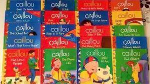 英語 絵本 カイユー(Caillou)20冊