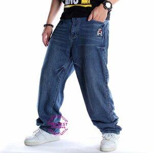 ジーンズ メンズ ジーパン ワイドパンツ Gパン ジーンズ メンズ ジーパン ワイドパンツ Gパン デニムパンツ ヒップポップ ダメージ加工