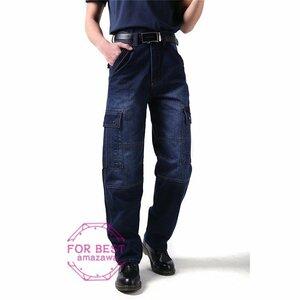 ワイドパンツ メンズ バギーパンツ ジーンズ デニム ストレート ワイドパンツ メンズ バギーパンツ ジーンズ デニム ストレート ルーズ