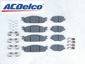 11-16y Ford Explorer EXPLORER* front rear rom and rear (before and after) brake pad brake pad * front side after side left right one stand amount AC Delco