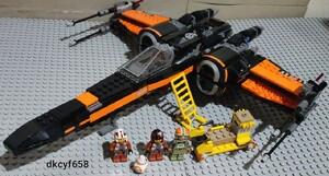 送料無料 LEGO STAR WARS 75102 ポーのXウィング・ファイター レゴ スターウォーズ
