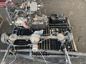 【E×2】 ダイハツ エンジン ミッション タービン PS デフ KF-DET KFDET ターボ 4WD L660S ミラジーノ HALFWAE? 乗せ換え 改造 流用 L650S
