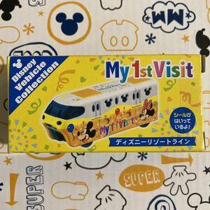 TDR 限定 ディズニー トミカ リゾートライン MY 1st Visit ミッキー ミニー Disney ビークル コレクション mickey RESORT LINE 新品